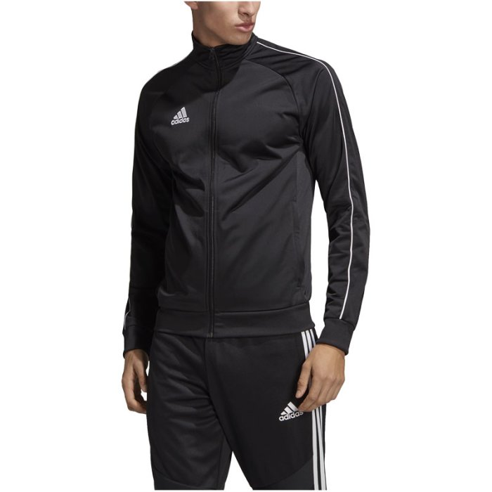 adidas Trainingsjacke Core 18 schwarz Fussball Shop