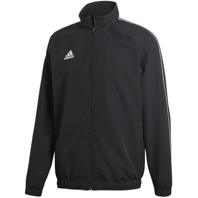 adidas Core 18 Präsentationsjacke - black/white - Gr. m im Sport Shop