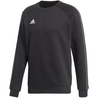 adidas Core 18 Sweat Top - black/white - Gr. l im Sport Shop
