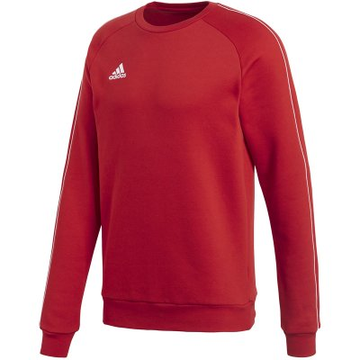 adidas Core 18 Sweat Top - power red/white - Gr. xs (Farbe: blau S )
