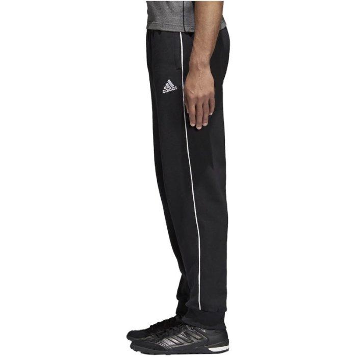 adidas Jogging Hose Core 18 Fußball Trainingshose Herren, Größe:XL, Farbe:Schwarz