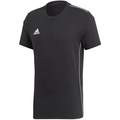 adidas Core 18 Tee - black/white - Gr. m im Sport Shop
