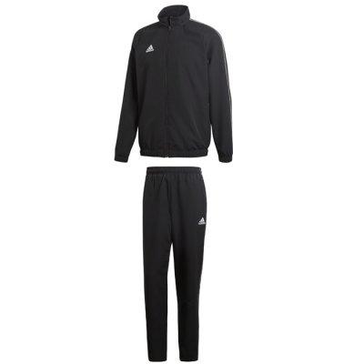adidas Core 18 Präsentationsjacke Rot Weiss | Teamsport