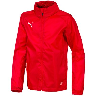 Puma Liga Training Regenjacke Core - puma red-puma white - Gr. l im Sport Shop