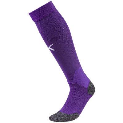 Puma Liga Socks Stutzen - prism violet-puma white - Gr. 4