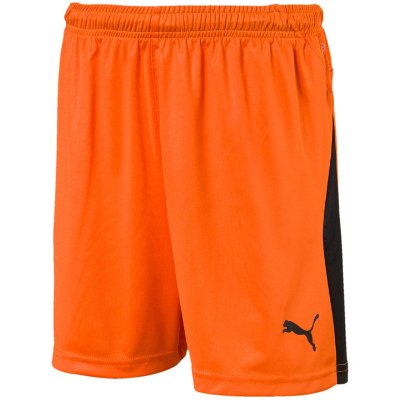 Puma Liga Short - golden poppy-puma black - Gr. 116 im Sport Shop
