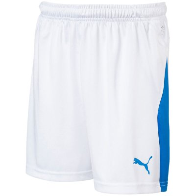 Puma Liga Short - puma white-electric blue - Gr. 128 im Sport Shop