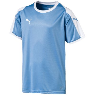 Puma Liga Trikot - silver lake blue-puma white - Gr. 116 (Farbe: orange 2020 )