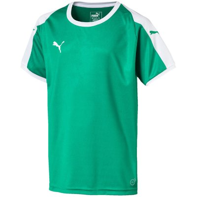 Puma Liga Trikot - pepper green-puma white - Gr. l im Sport Shop