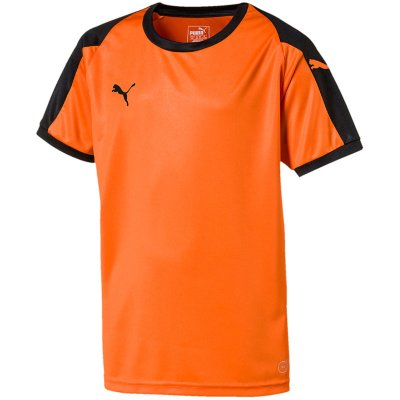 Puma Liga Trikot - golden poppy-puma black - Gr. l (Farbe: orange  )