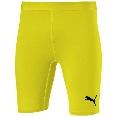 Puma Liga Baselayer Short Tight - cyber yellow - Gr. 152 (Farbe: gelb lila )