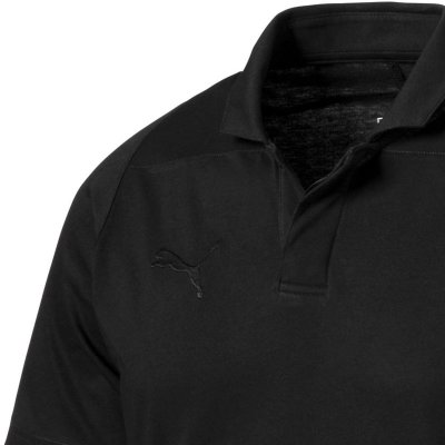Puma Final Casuals Polo - puma black - Gr. l