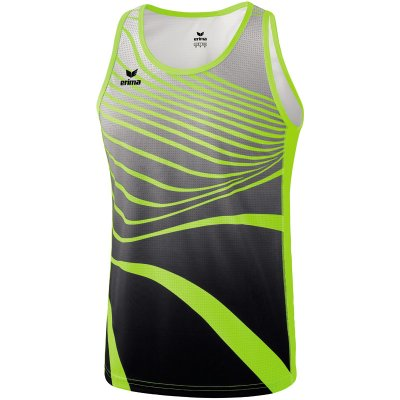 Erima Athletic Singlet - neon yellow/black - Gr. 164