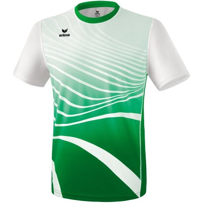 Erima Athletic T-Shirt Function - smaragd/white - Gr. 164 (Farbe: rot L )