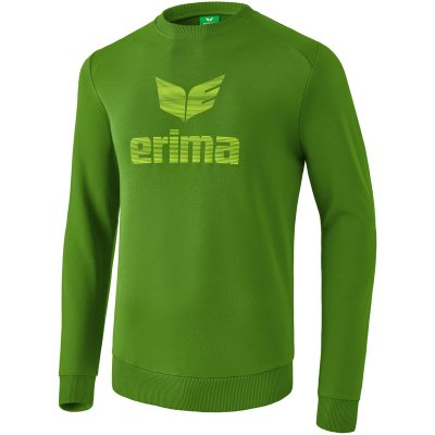 Erima Essential Sweatshirt - twist of lime/lime pop - Gr. 3XL (Farbe: rot L )