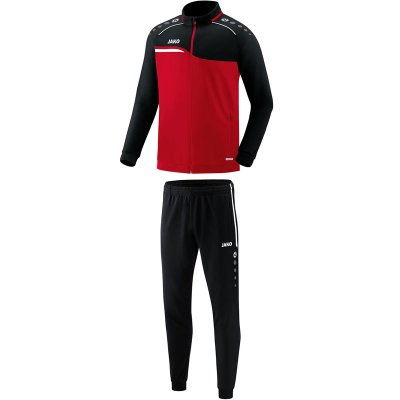 Jako Competition 2.0 Polyesteranzug - rot/schwarz - Gr.  4xl (Farbe: rot  )