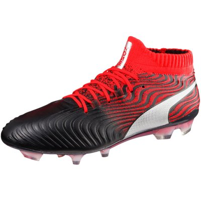 Puma One 18.1 FG Synthetik black/red
