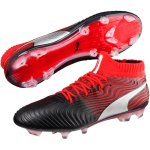 Puma One 18.1 FG Synthetik black/red im Sport Shop