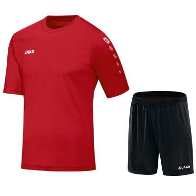 Jako Team Set - rot - Gr.  128 (Farbe: rot  )