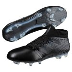 Puma One 18.1 FG Leder blackout im Sport Shop