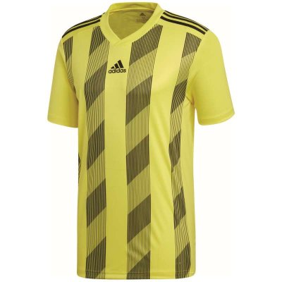 adidas Striped 19 Trikot - bright yellow/black - Gr. 2xl (Farbe: 116 gelb )