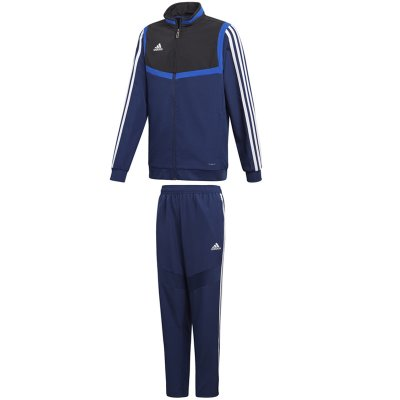 adidas Tiro 19 Präsentationsanzug - dark blue/black/white - Gr. 2xl im Sport Shop