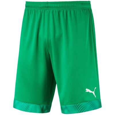 Puma Cup Shorts - bright green-prism violet - Gr. 164 (Farbe: weiß 164 )