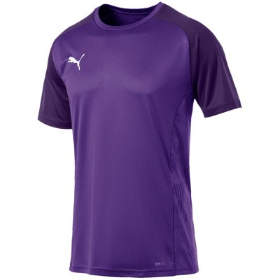 Puma Cup Sideline Tee Core - prism violet-indigo - Gr. m (Farbe: rot 176 )