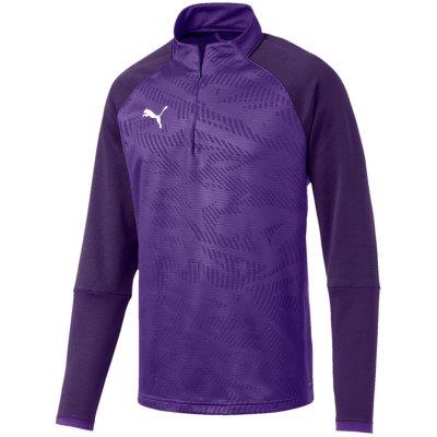 Puma Cup Training 1/4 Zip Top Core - prism violet-indigo - Gr. l