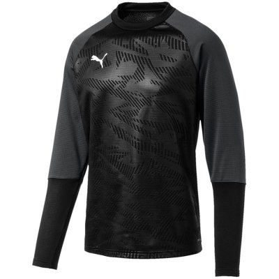 Puma Cup Training Sweat Core - puma black-asphalt - Gr. l (Farbe: blau 128 )