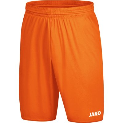 Jako Sporthose Manchester 2.0 - neonorange - Gr.  s (Farbe: rot L )