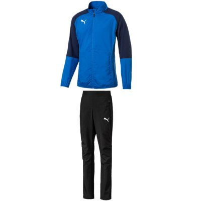 Puma Cup Sideline Präsentationsanzug Core - electric blue lemonade-peacoat - Gr. m (Farbe: blau 128 )