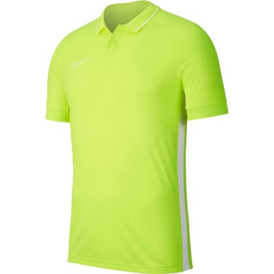 Nike Academy 19 Polo - volt/volt/white/whit - Gr.  m (Farbe: S gelb )