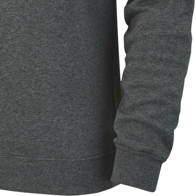 Nike Club 19 Crew Top Sweatshirt - charcoal heathr/whit - Gr.  m