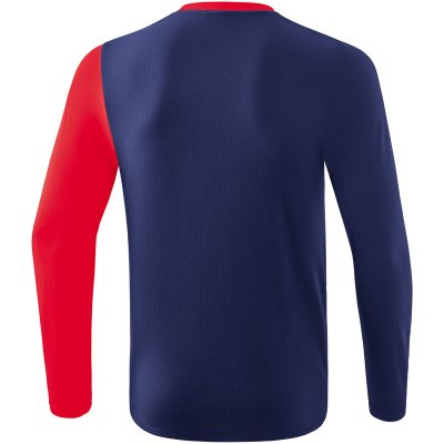Erima 5-C Longsleeve - new navy/red/white - Gr. 152