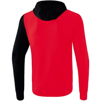 Erima 5-C Trainingsjacke Mit Kapuze - red/black/white - Gr. L