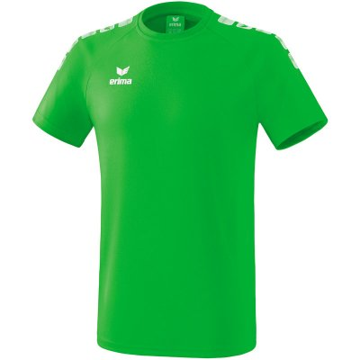 Erima Essential 5-C T-Shirt - green/white - Gr. XL (Farbe: grün  )