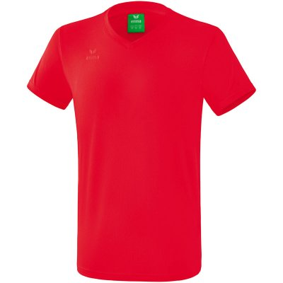 Erima T-Shirt Style - red - Gr. 128 (Farbe: rot S )