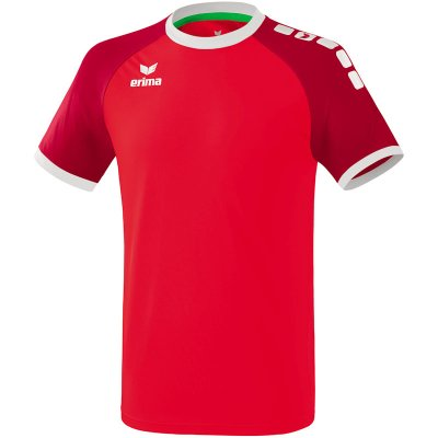 Erima Zenari 3.0 Trikot - red/ruby red/white - Gr. XXXL (Farbe: orange Kurzarm )