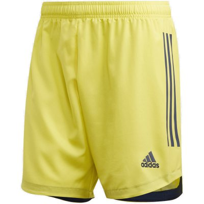 adidas Condivo 20 Short - shock yellow/team navy blue - Gr. 2xl (Farbe: gelb lila )