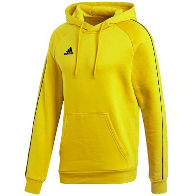 adidas Core 18 Hoody - yellow - Gr. 140 (Farbe: rot XL )