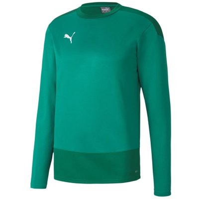 Puma teamGoal 23 Training Sweat - pepper green-power green - Gr. 164 (Farbe: rot 164 )