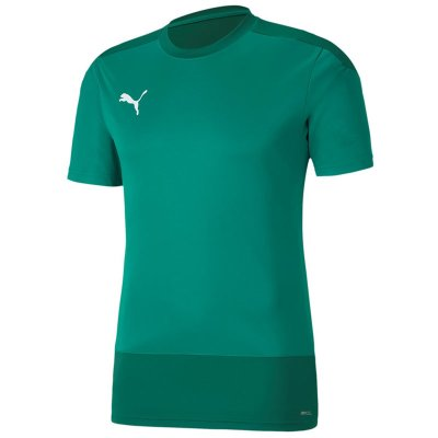 Puma teamGoal 23 Training Jersey - pepper green-power green - Gr. 128 (Farbe: 128 grau )