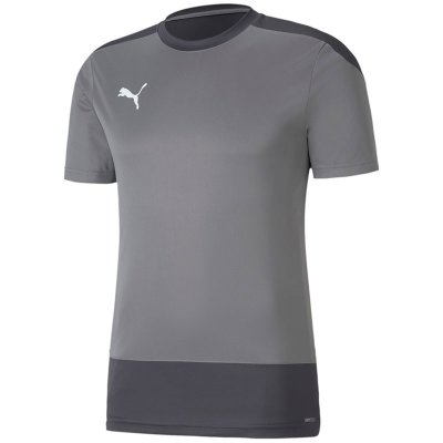 Puma teamGoal 23 Training Jersey - steel gray-asphalt - Gr. 116 (Farbe: rot 164 )