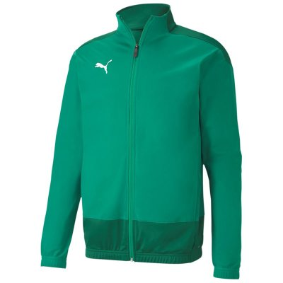 Puma teamGoal 23 Polyester Trainingsjacke - pepper green-power green - Gr. s (Farbe: blau M )