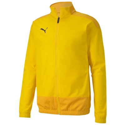 Puma teamGoal 23 Polyester Trainingsjacke - cyber yellow-spectra yellow - Gr. 116 (Farbe: rot 164 )