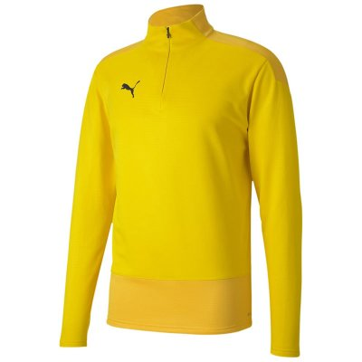 Puma teamGoal 23 Training 1/4 Zip Top - cyber yellow-spectra yellow - Gr. 116 (Farbe: gelb  )
