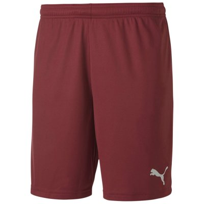Puma teamGoal 23 Knit Short - cordovan - Gr. s (Farbe: rot 164 )
