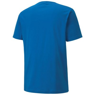 Puma teamGoal 23 Casuals Tee - electric blue lemonade - Gr. m