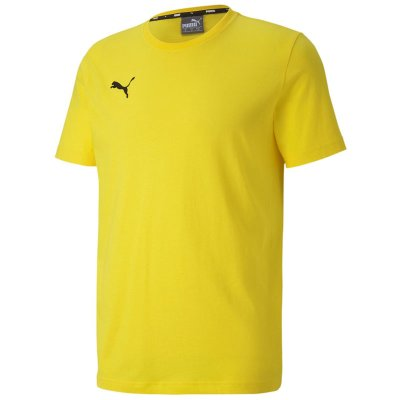 Puma teamGoal 23 Casuals Tee - cyber yellow - Gr. 3xl (Farbe: gelb  )